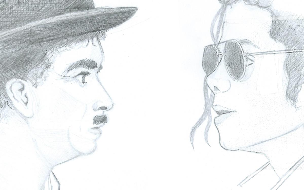 Chaplin meets Mj