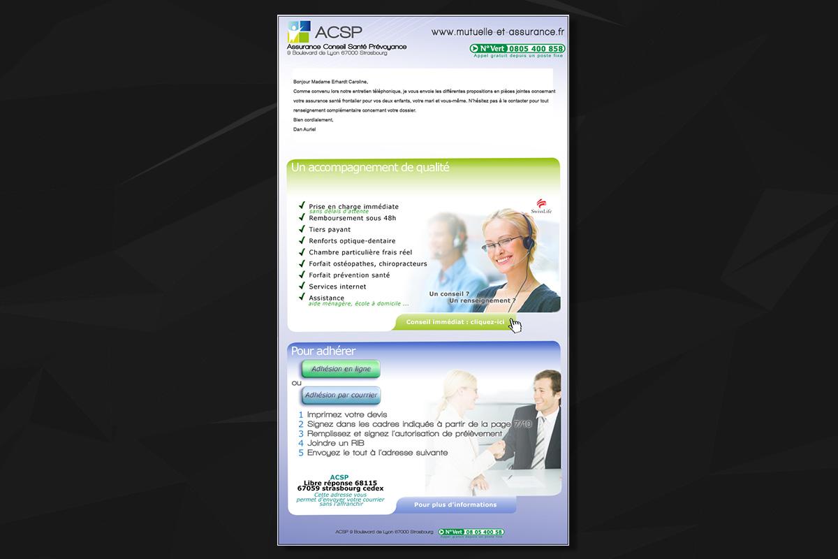 Emailing ACSP