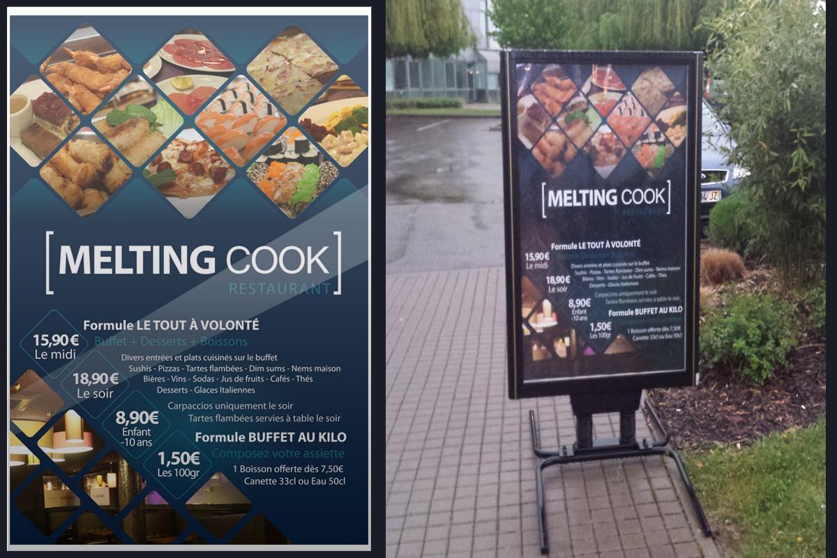 Panneau affichage exterieur restaurant webbi webmaster for Panneau exterieur restaurant